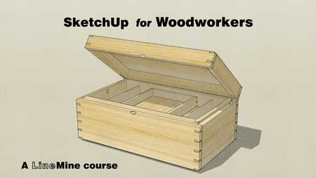 SketchUp for Woodworkers course